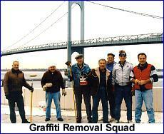 The graffiti control squad
