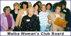 The Woman's Club board